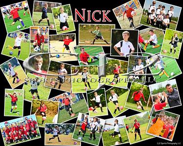 2013 Nick White Soccer Poster