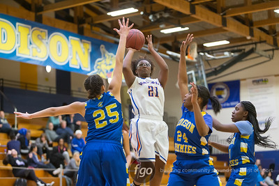 1-21-16 Minneapolis Washburn v Minneapolis Edison Girls Basketball