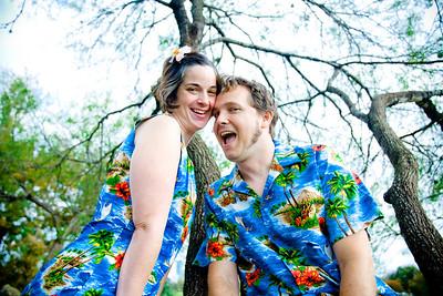 Eric & Jill Hawaii Outfits