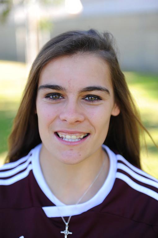 . Kaitlyn Johnson #8 Torrance High School soccer 2/13