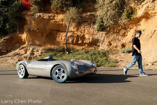 Alan Iwamoto's WRX-swapped Porsche Spyder