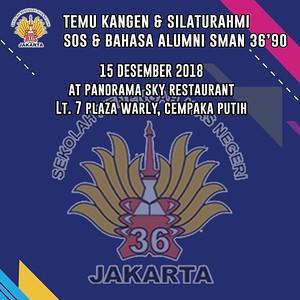 181215 | Temu Kangen & Silahturahmi Alumni SMAN 36'90