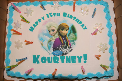 Kourtney's 15th birthday party