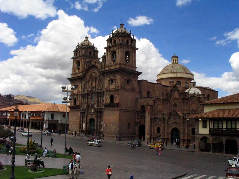 Cusco - main plaza.