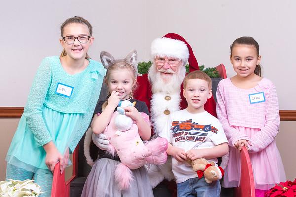 TBTP 2017 Photos with Santa