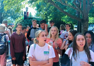 US 10th Oregon College Trip 8-28 to 8-30-18