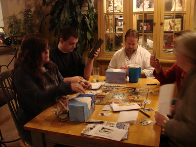 Game night Radabaugh-Gehring March 2010