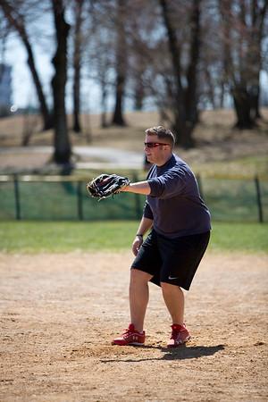 RVFD Softball Practice 04.06.2013