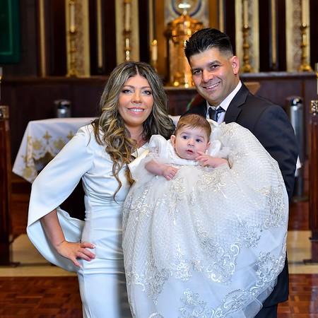 Alessia Rose Baptism