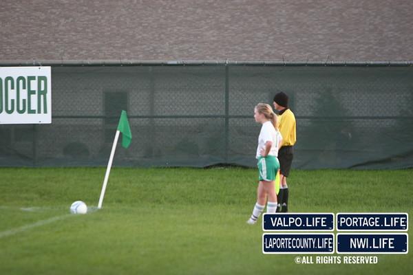 Girls Soccer vs. La Porte 2010