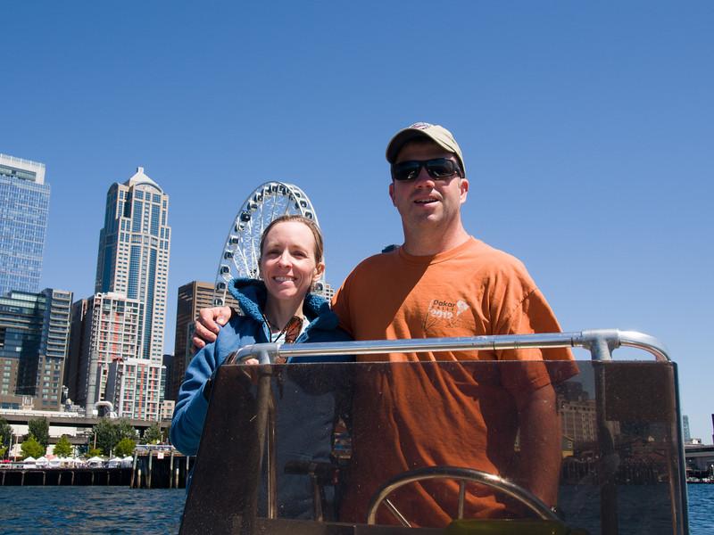 Karen and Terry