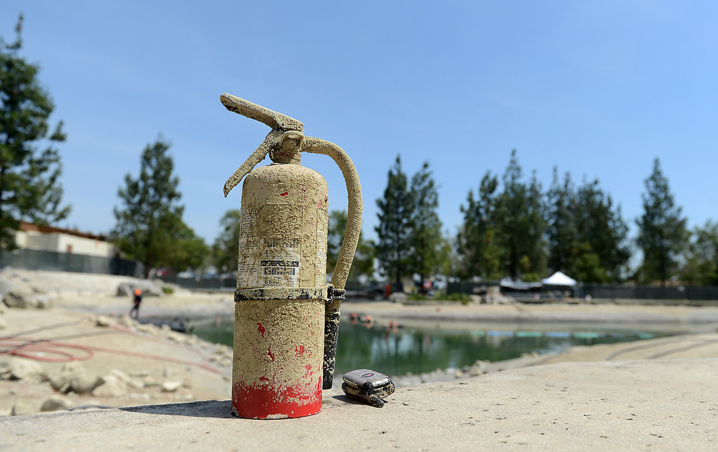 . In this May 2014 file photo, Items found in the lake at Red Hill Park are seen in Rancho Cucamonga, CA, Friday, May 16, 2014. (File Photo/Photo by Jennifer Cappuccio Maher/Inland Valley Daily Bulletin)