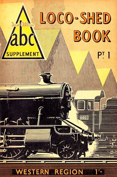 1950 Pt.1, Loco-Shed Book - Western Region.