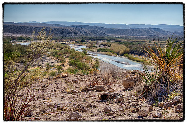Big Bend National Park - Boquillas Canyon and Hot Springs