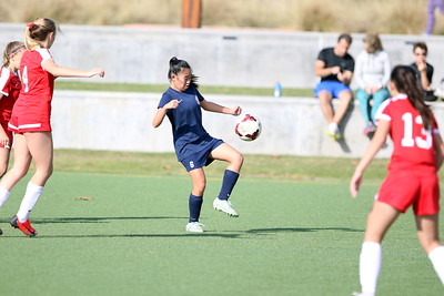 Beckman Girls Soccer FROSH 12.01.18