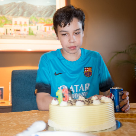 Marco's 13th Birthday