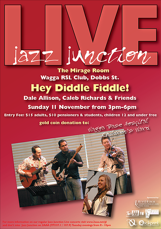 11/11/12 Hey Diddle Fiddle