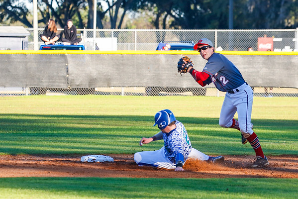LHPS Baseball vs Cornerstone 2-18-2015