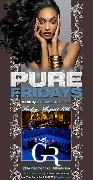 Aug-10-2012 ::: PURE Fridays @ The Gold Room