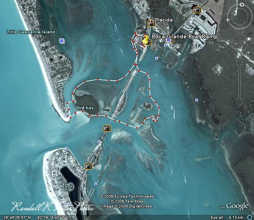 Google Earth Kayak Trips