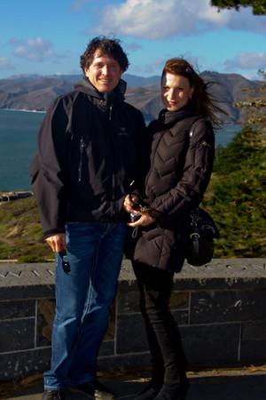 Len & Galina in SF 11/2010