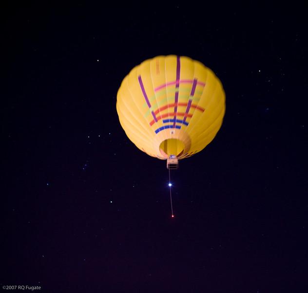 Dawn patrol flies through Orion