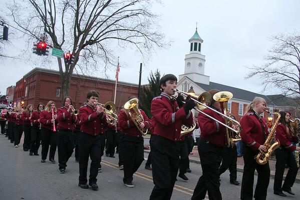 2013,  Christmas Pre-Parade