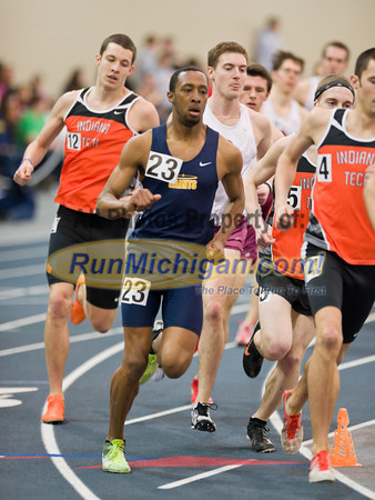 Men's 3K - 2012 WHAC Indoor Finals