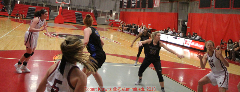 MIT-Emmanuel Women's Basketball Dec. 8, 2018