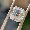 3.10ct Vintage Emerald Cut Diamond, GIA H VS1 39