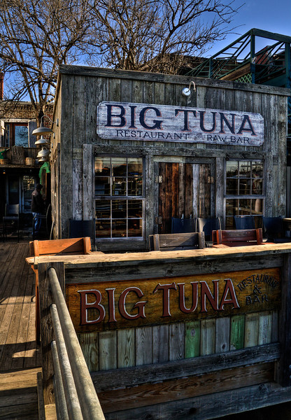 The dock side of Big Tuna