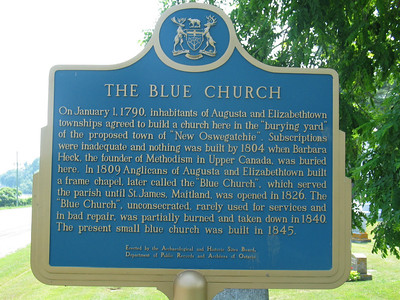 Blue Church, Prescott