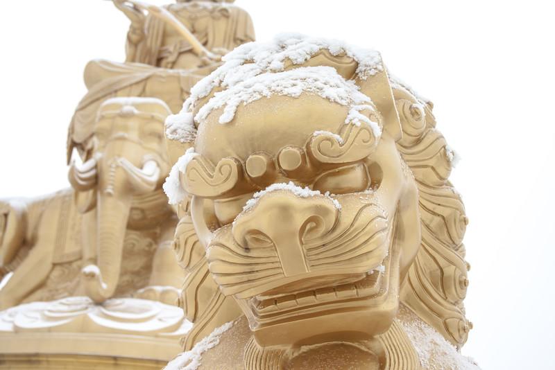 Detail, Buddha, Emei Shan