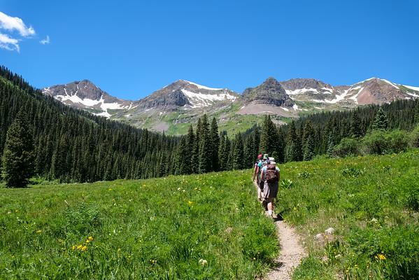 Hiking Oh Be Joyful