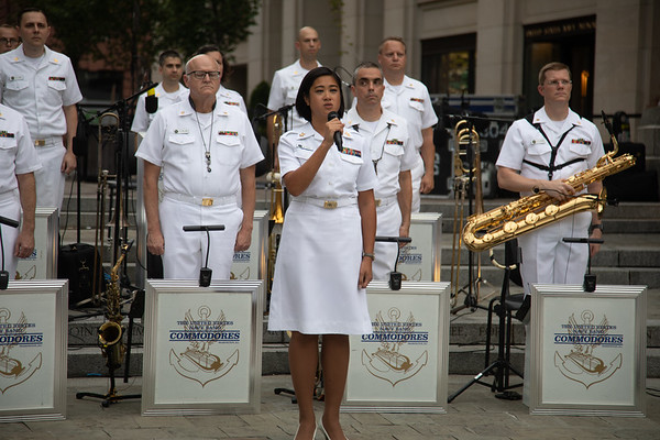 U.S. Navy Band Commodores Concert at the U.S. Navy Memorial (July 17, 2019)