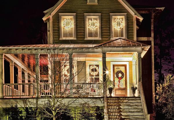 Daniel Island Christmas Lights HDR