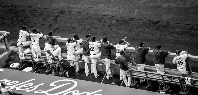 Dodgers - Diamondbacks 9-4-2017