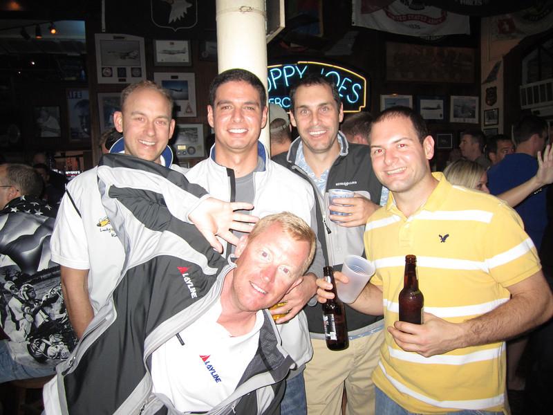 Rob, Tal, Bill, Travis and Jon at Sloppy Joe's