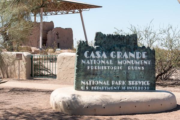 Casa Grande Ruins National Monument / Tumacacori National Historical Park /Arizona