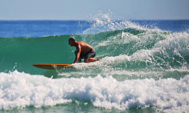 Surfing at W. Beech Friday October 21, 2017