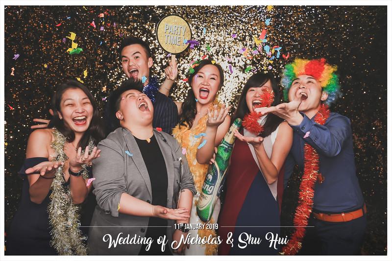 Wedding of Nicholas & Shu Hui | © www.SRSLYPhotobooth.sg