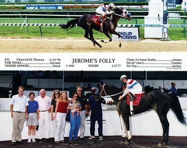 JEROME'S FOLLY - 6/23/1999