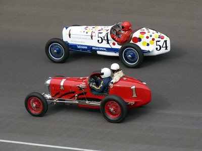 Vintage Cars - Indianapolis Motor Speedway - 27 & 28 May '16