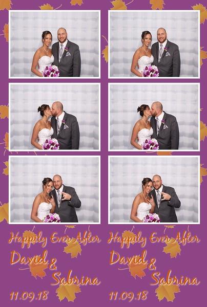 David & Sabrina's Wedding (11/12/18)