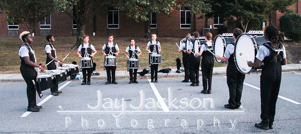 2019 09 28 Competition - Ledford - Band Warm-Up