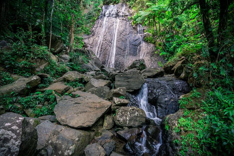 La Coca Falls - Wide