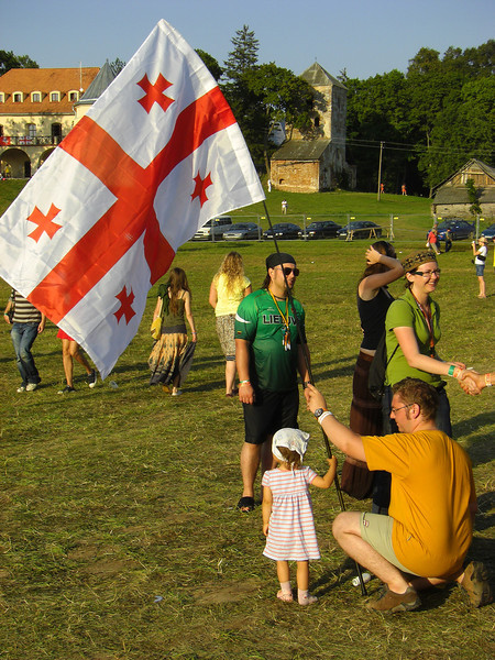 Georgian Solidarity at b2gether Music Festival - Lithuania