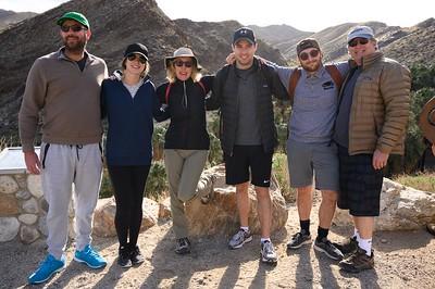 Hiking at Indian Canyon