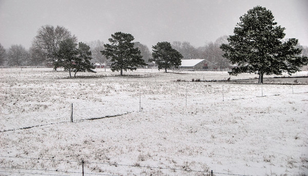 Mississippi Snow 2013