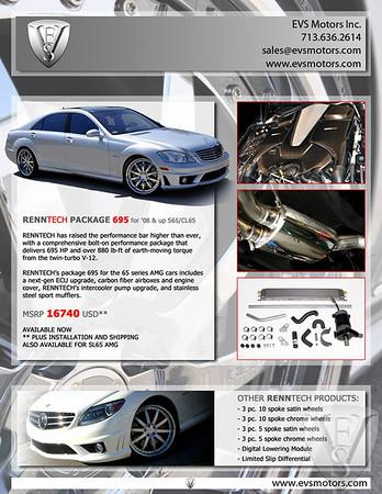 Renntech S65 Performance Package